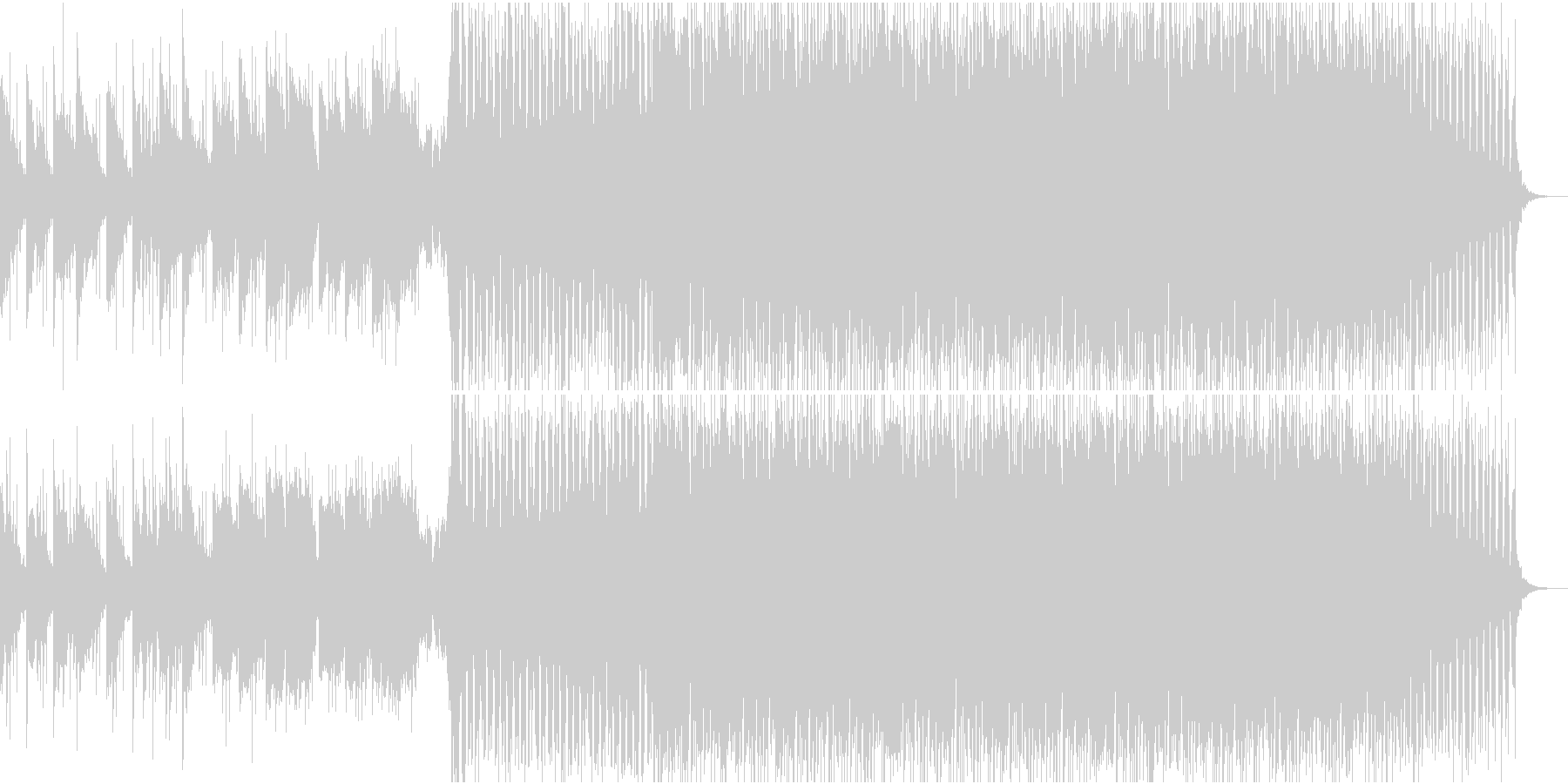 ハウス ダンス プログレッシブ ロ...の未再生の波形