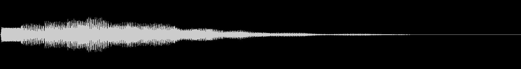 テュルル:アナウンス・呼び出し・案内dの未再生の波形