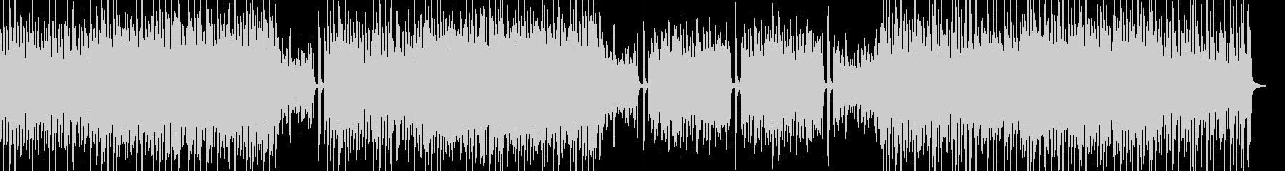 シンプル&スマートなポップス・ベース無の未再生の波形