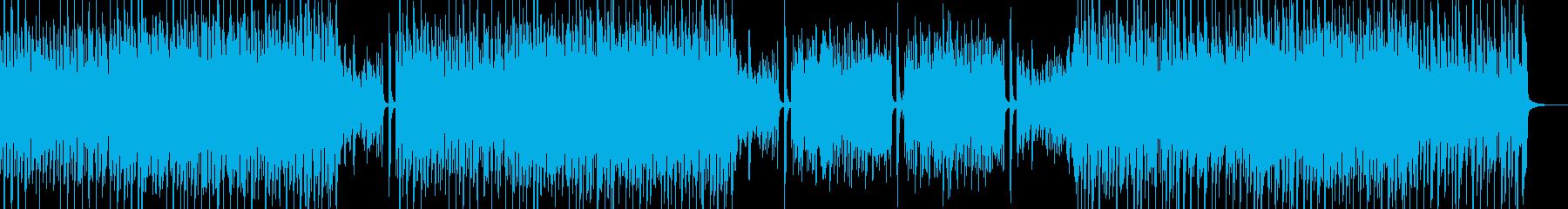 シンプル&スマートなポップス・ベース無の再生済みの波形
