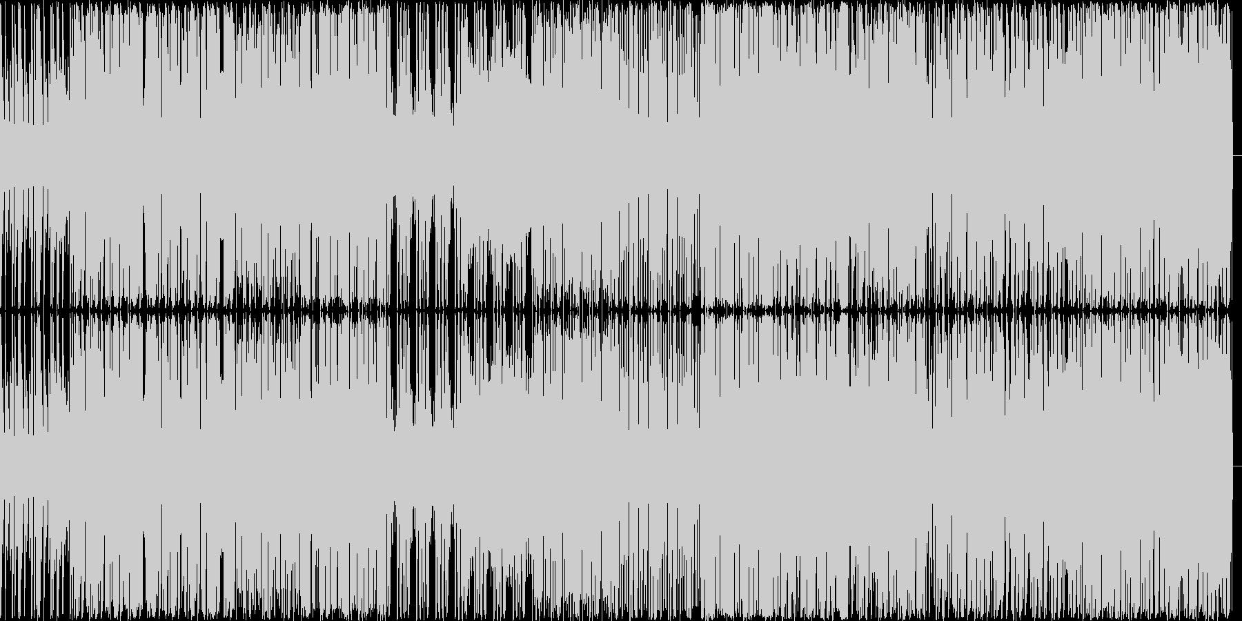 trapです。EDMです。の未再生の波形