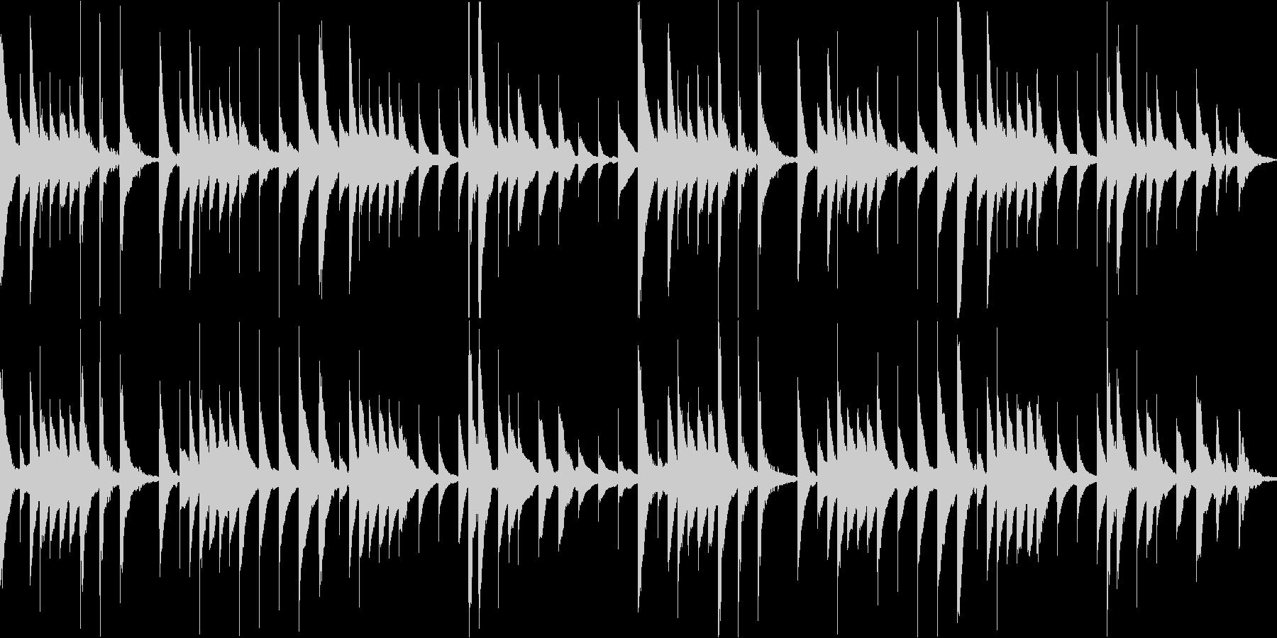 愛の挨拶のオルゴールアレンジ/ループokの未再生の波形