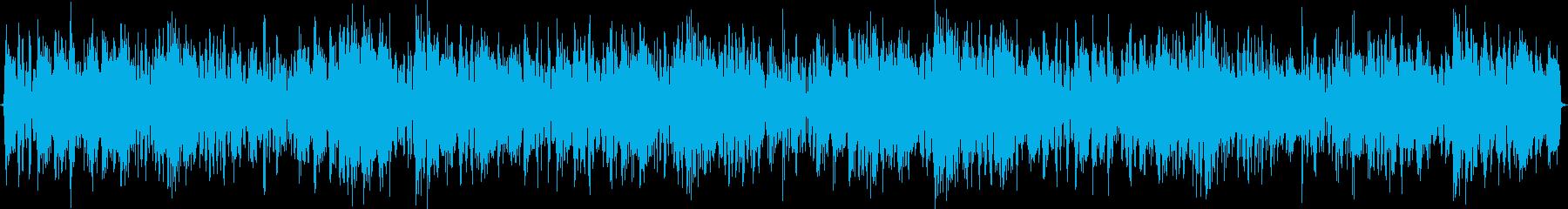 ディスコ風トランスと言う新しい曲です。の再生済みの波形