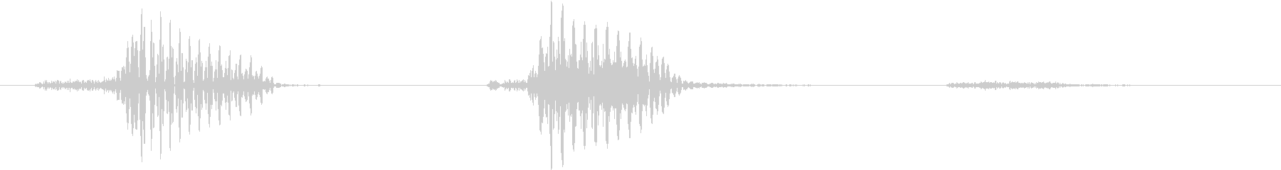 Fufufu's unreproduced waveform