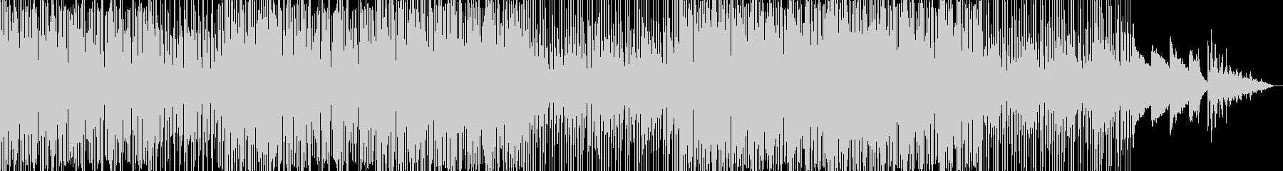 【CM】疾走感溢れるフューチャーハウスの未再生の波形