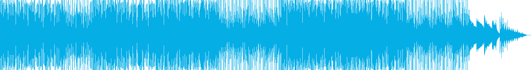 【CM】疾走感溢れるフューチャーハウスの再生済みの波形
