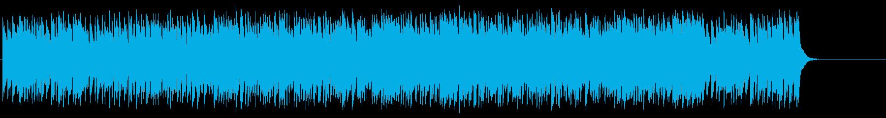 颯爽と繰り出す軽妙ポップ(イントロ~…)の再生済みの波形
