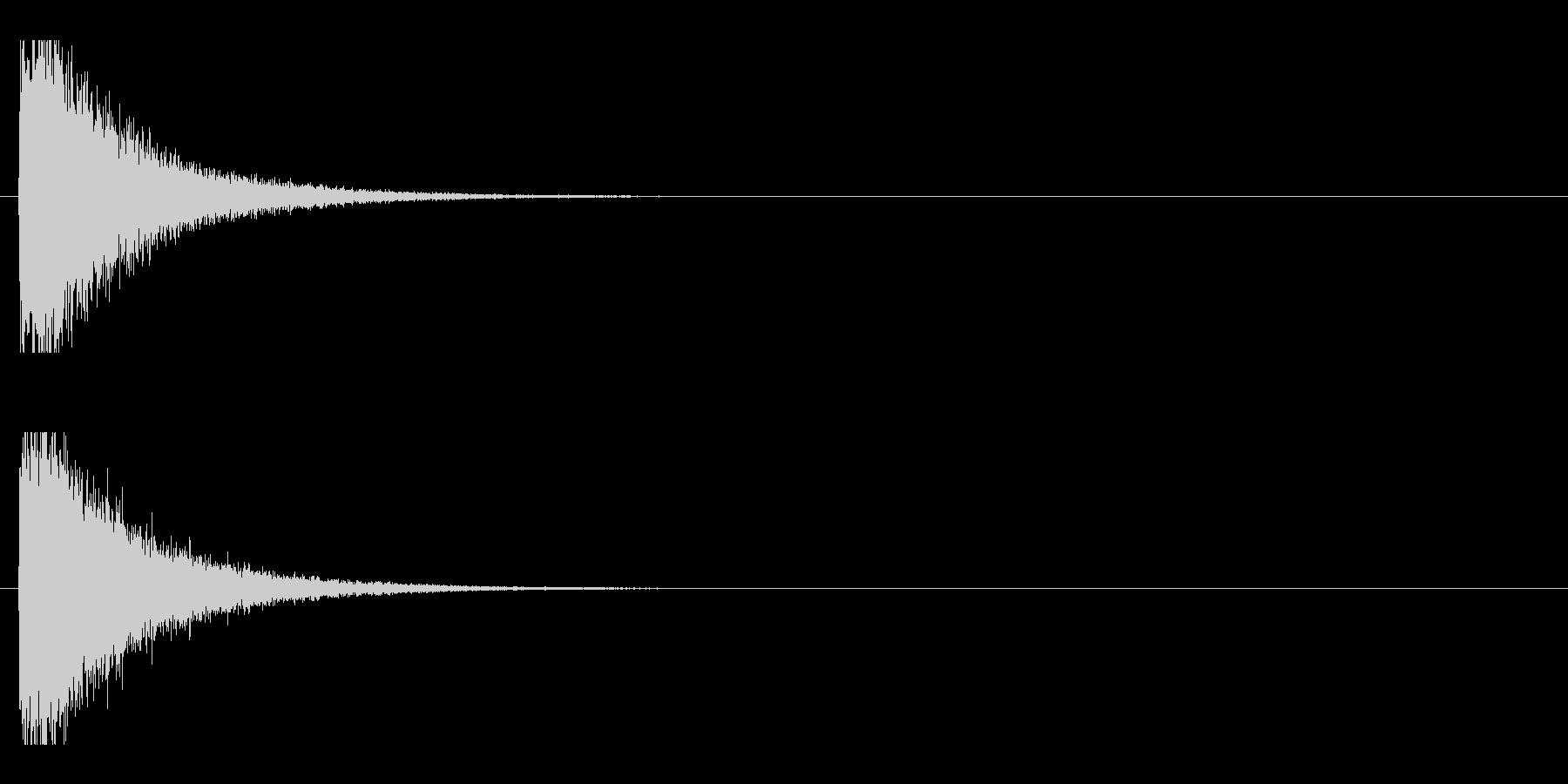 レーザー音-92-1の未再生の波形