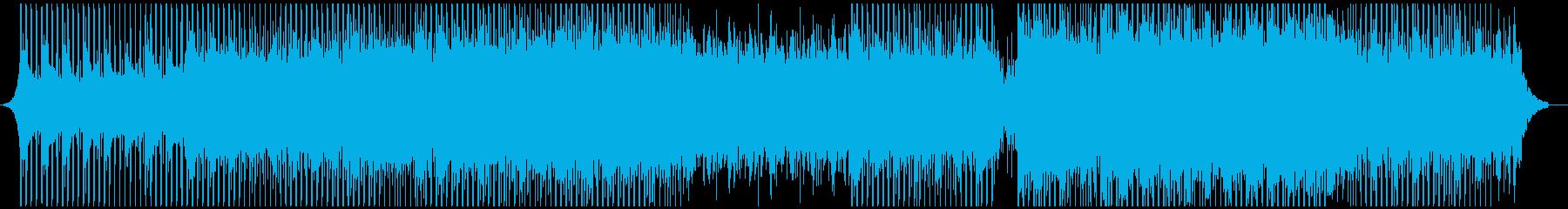 チュートリアルの再生済みの波形