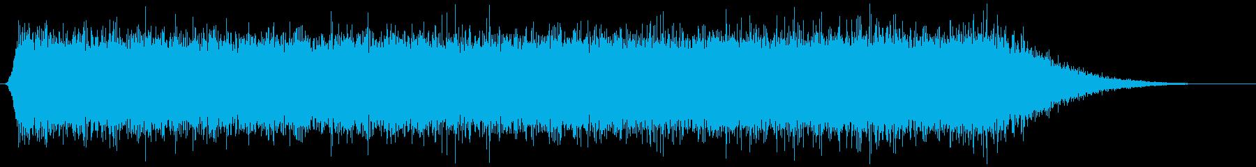 水を流す (長め) ジャー…の再生済みの波形