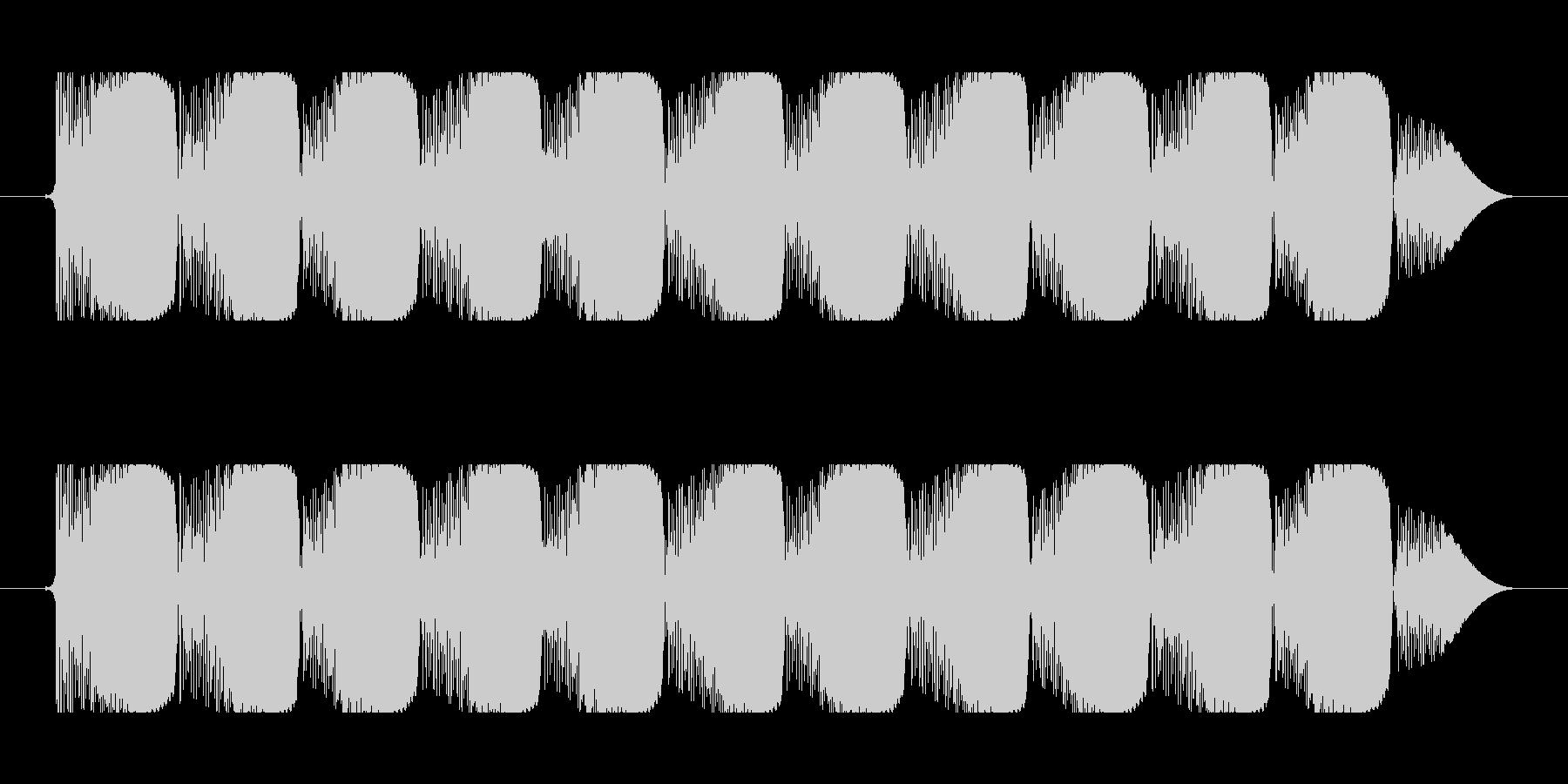 ビーム効果音 90b コミカルな連射 ビの未再生の波形
