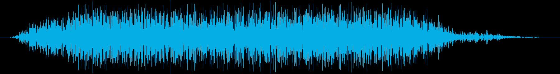 モンスター 悲鳴 45の再生済みの波形