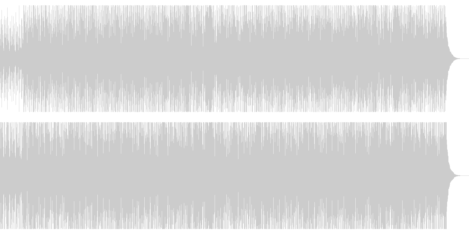 CMや映像向けハッピーなウクレレポップスの未再生の波形