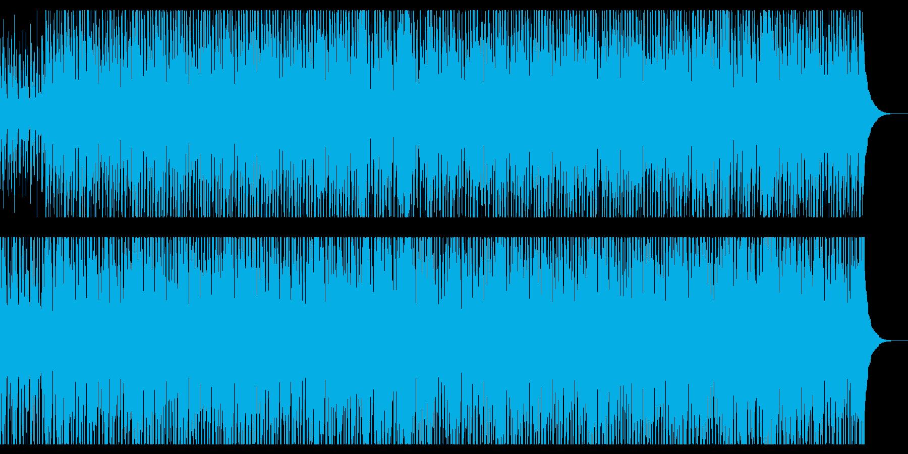CMや映像向けハッピーなウクレレポップスの再生済みの波形