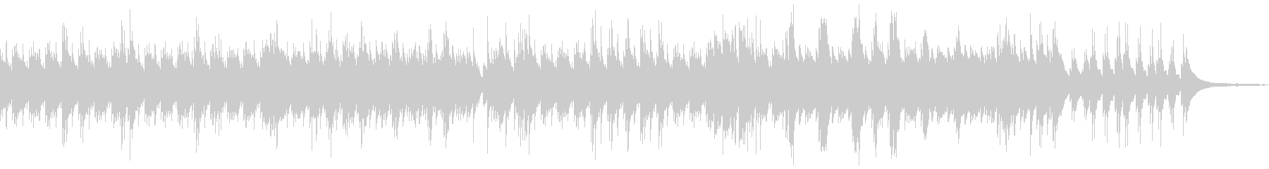 流れるソロピアノトラックは、壮大な...の未再生の波形