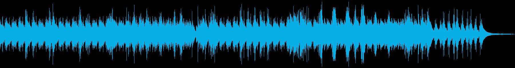 流れるソロピアノトラックは、壮大な...の再生済みの波形