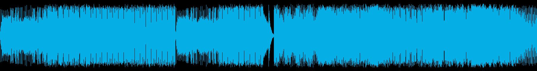 火星をテーマにしたドラムンベースの再生済みの波形