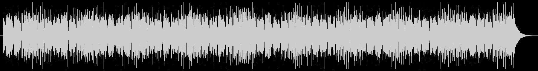 ほんわかアコースティックフォークBGMの未再生の波形