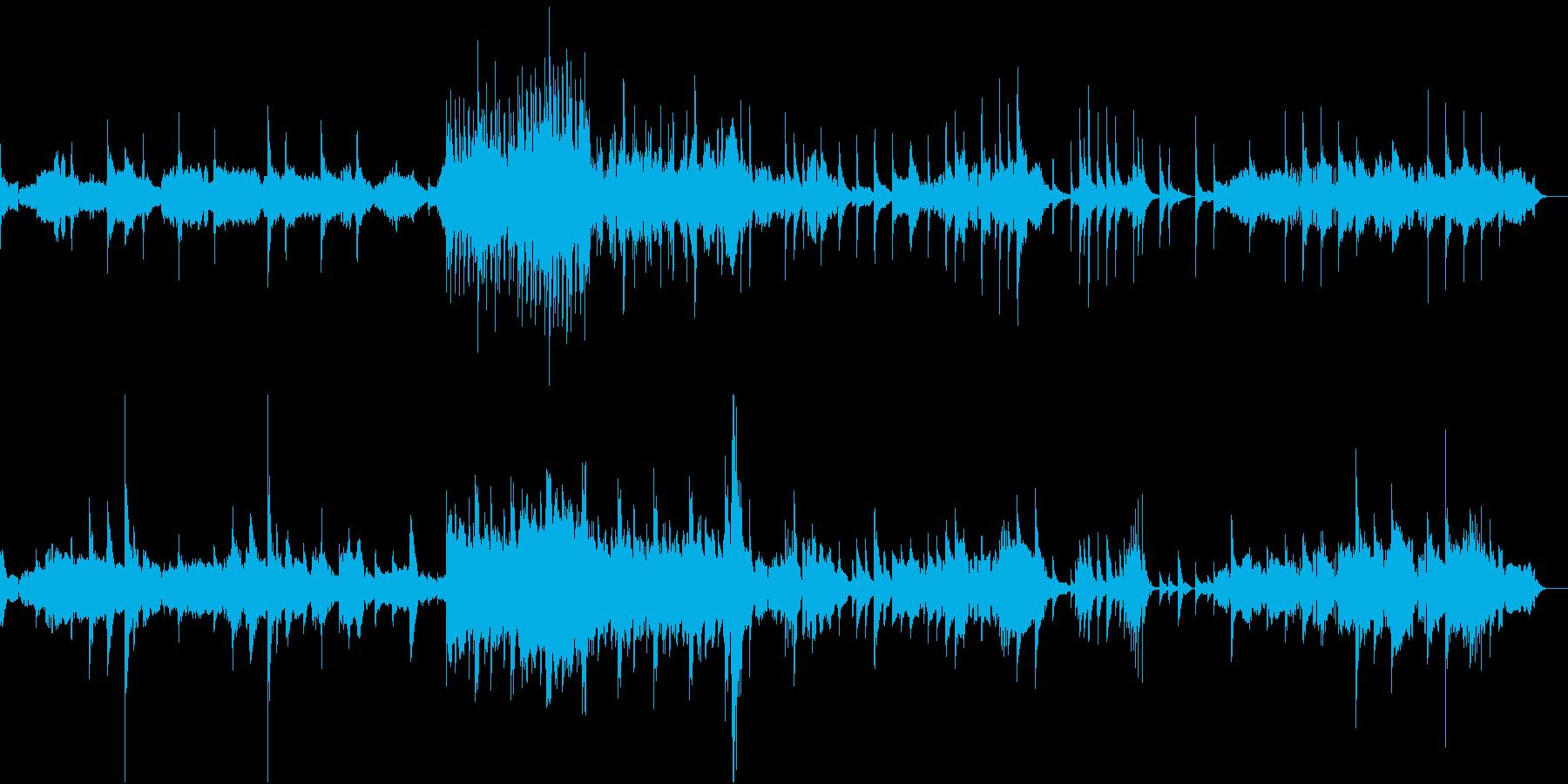 新春の風 正月の和楽器音楽の再生済みの波形