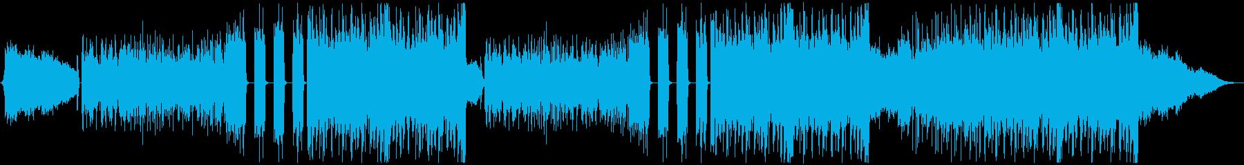 K-Pop、ダーク、ハード、ホラービートの再生済みの波形