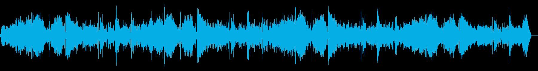 ダークなシネマアンビエントの再生済みの波形