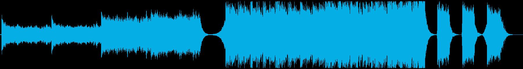 【予告編】トレーラー・ハリウッド・壮大の再生済みの波形