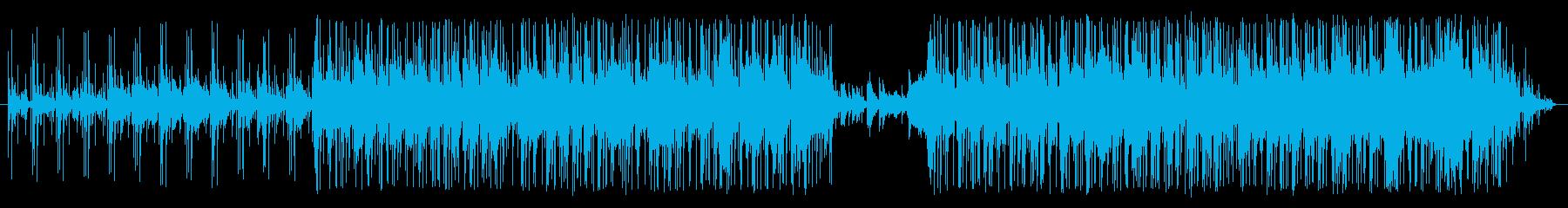 心が落ち着くおしゃれなジャズ風BGMの再生済みの波形
