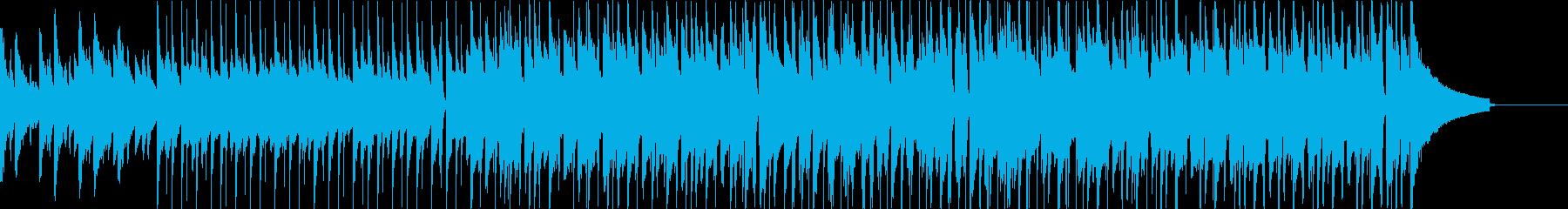 【ショート版】ポジティブで爽やかなピアノの再生済みの波形