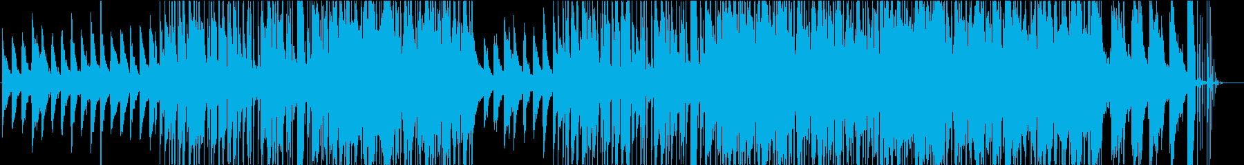 ジャズ・チルアウト・ヒップホップの再生済みの波形