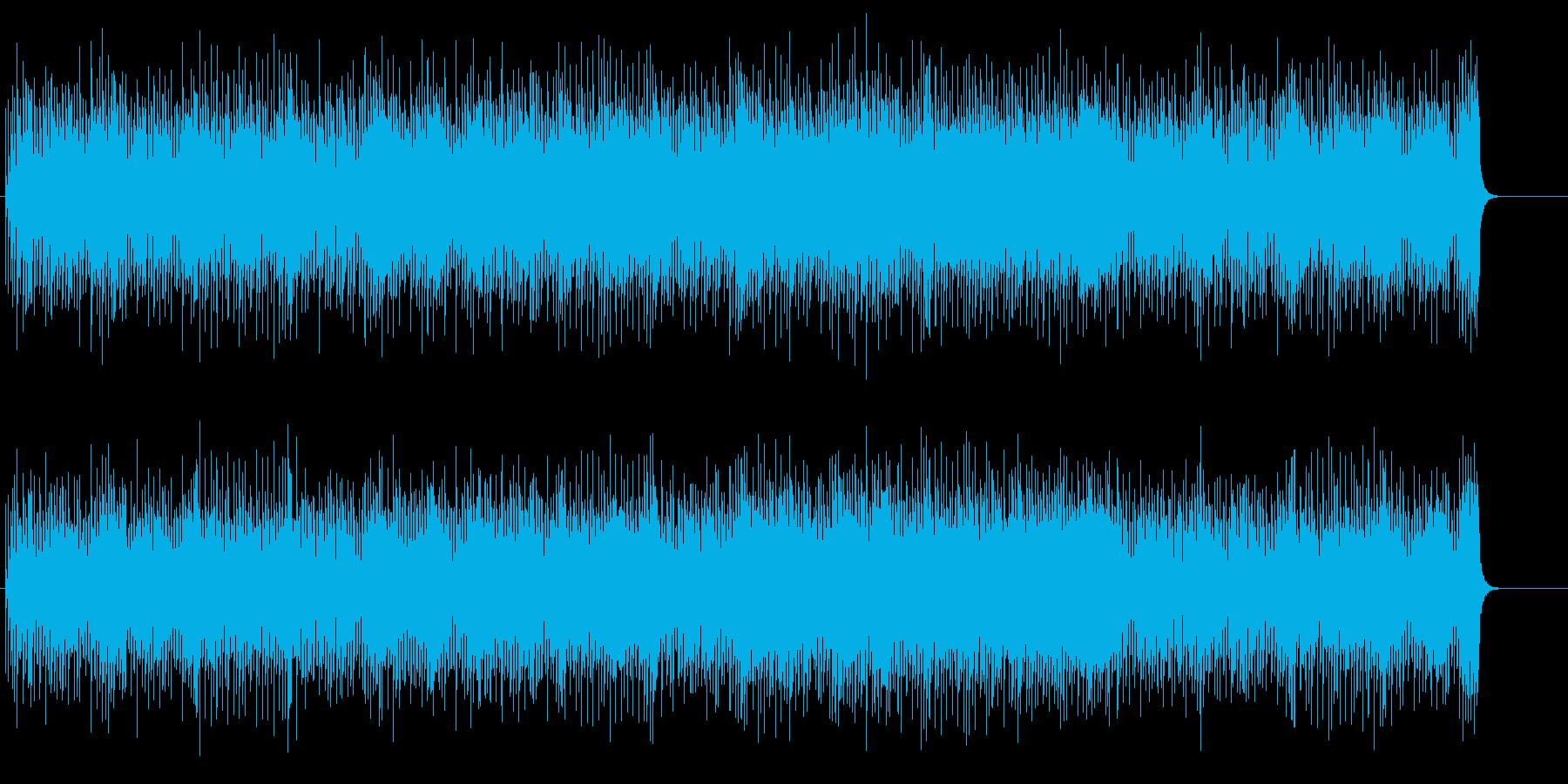 優しく淡々とした8ビート・ポップスの再生済みの波形