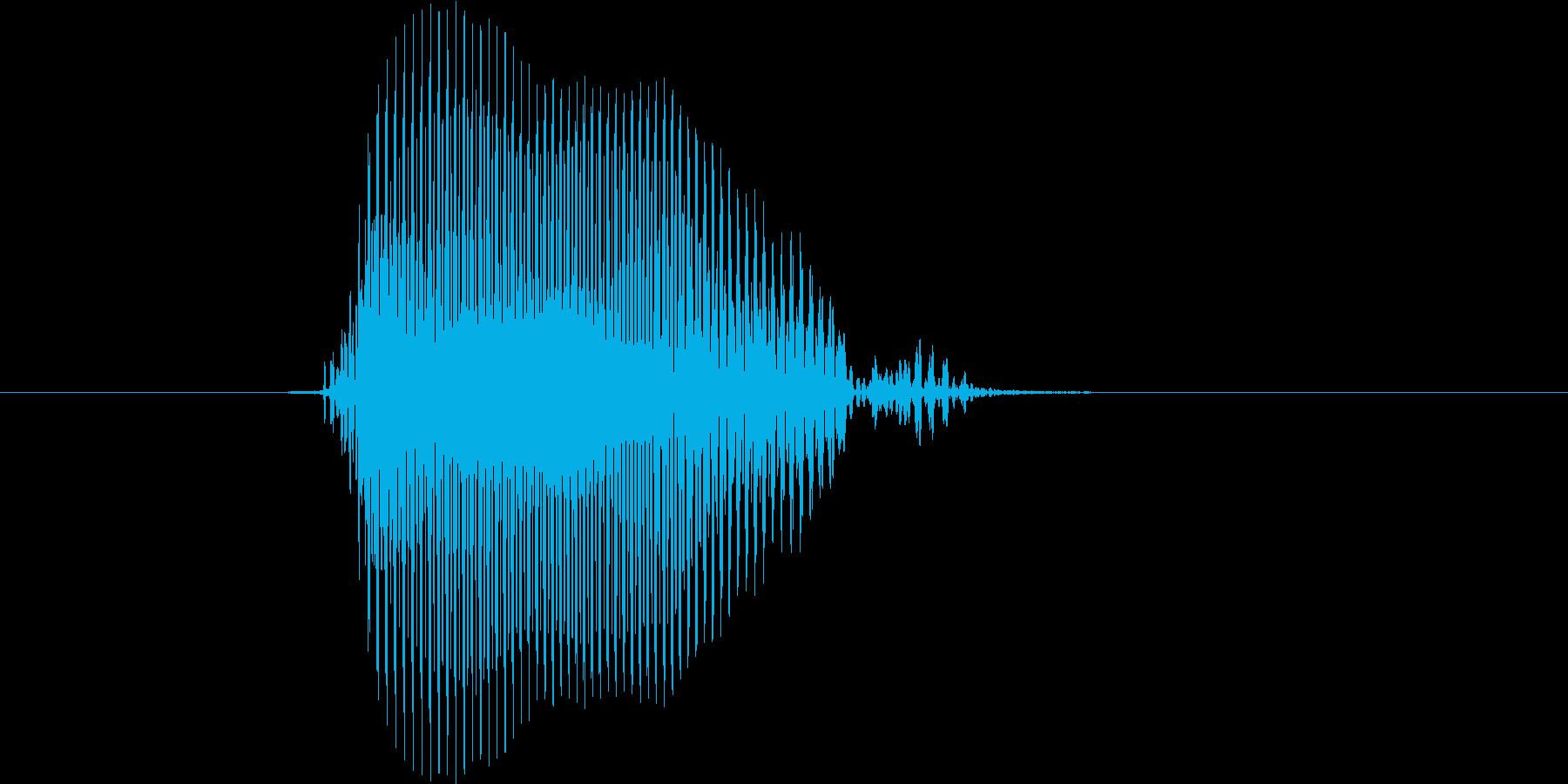 ボール(低音)の再生済みの波形