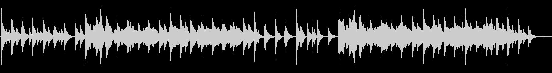 幻想的なピアノ4重奏の未再生の波形