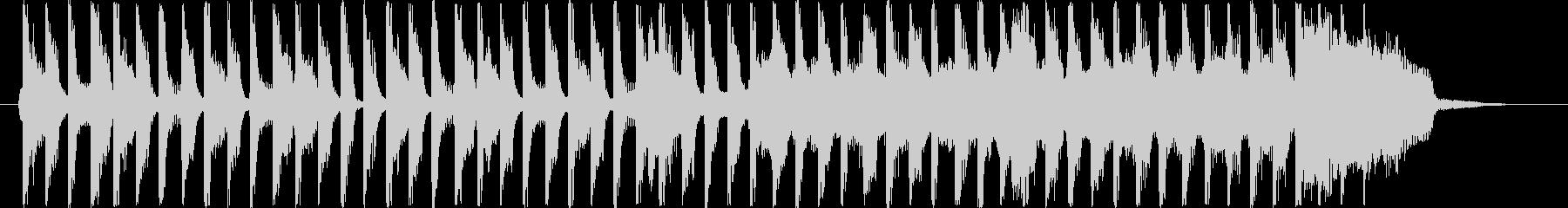 15秒CM お子様 ほのぼの コマソンの未再生の波形