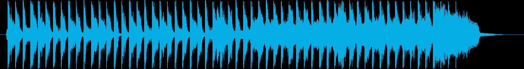 15秒CM お子様 ほのぼの コマソンの再生済みの波形