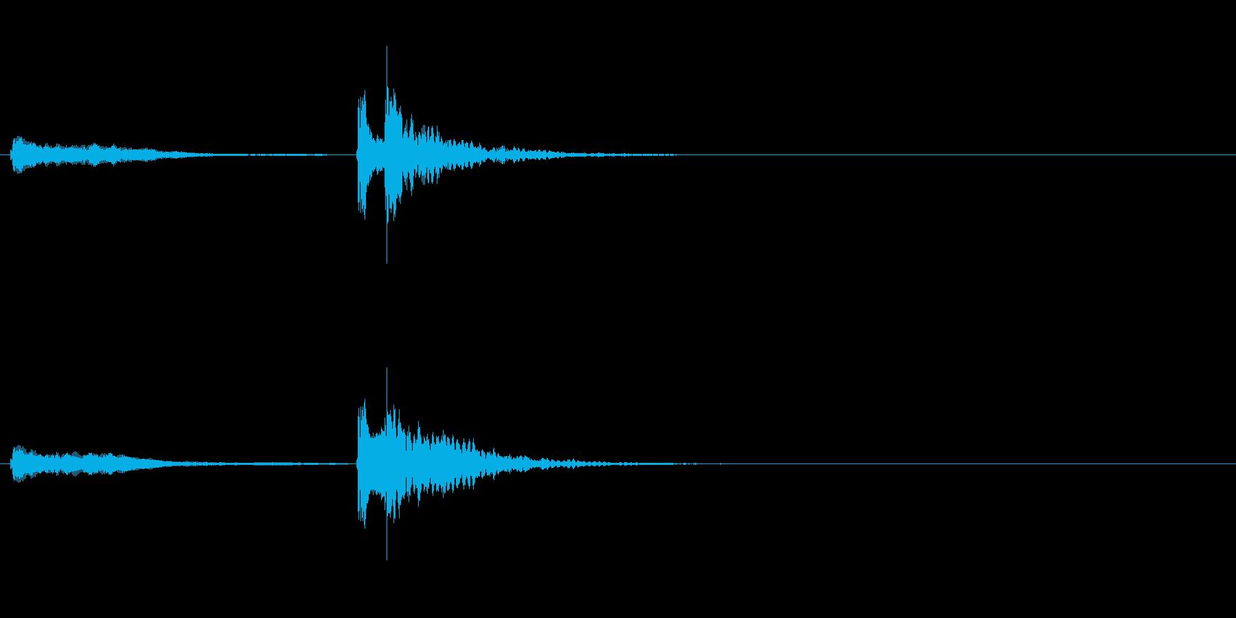 生演奏 琵琶 和風 古典風 残響有#4の再生済みの波形