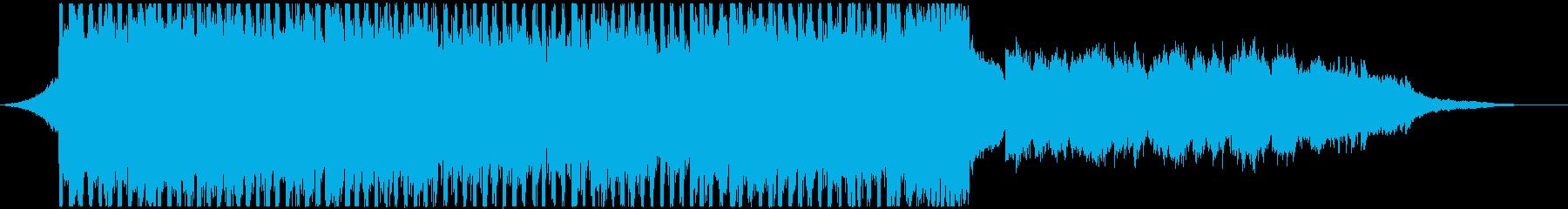VP系8、バイオリン、幻想的、オシャレBの再生済みの波形