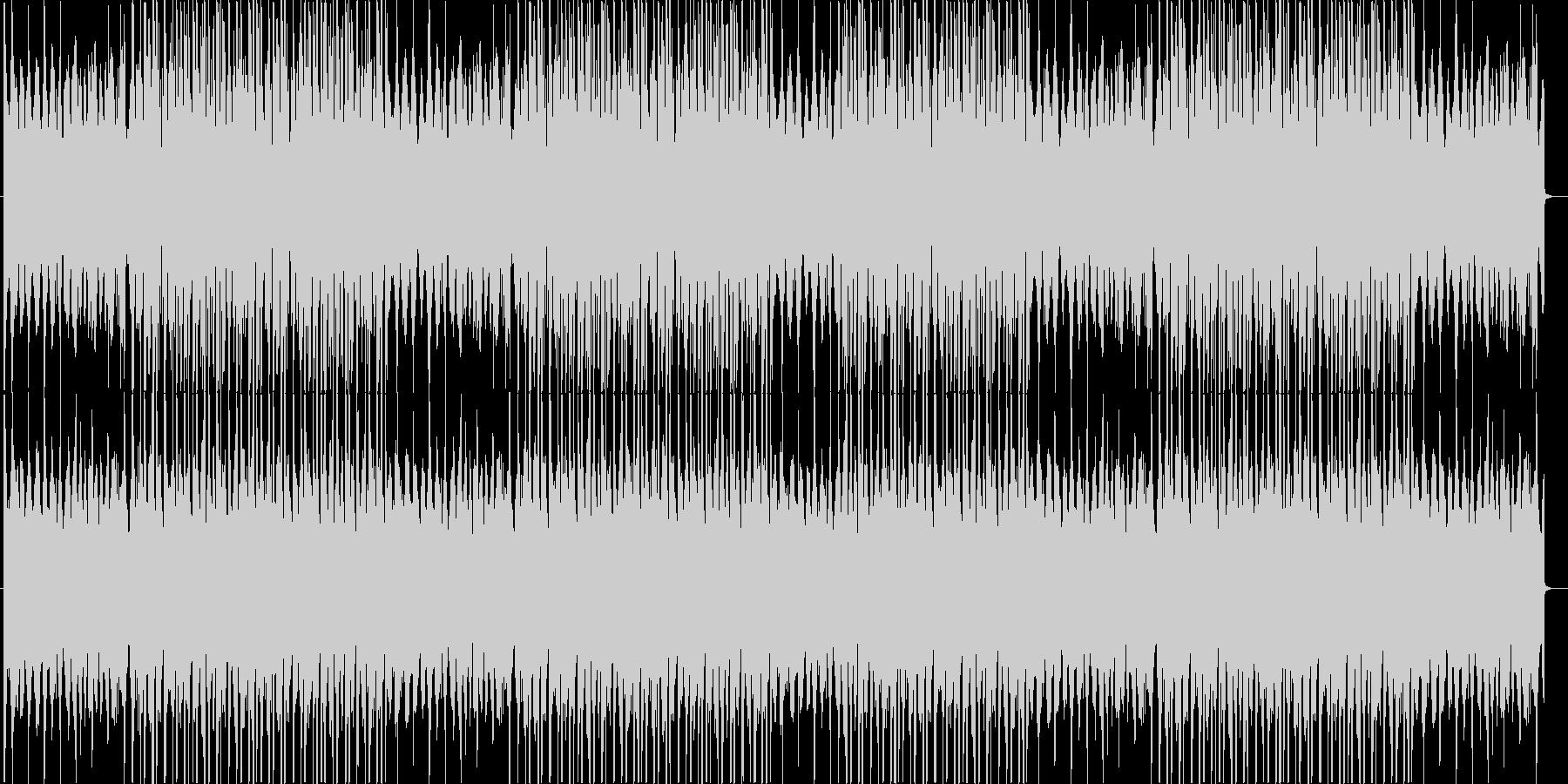 洋楽、チルアウト、ダークトラップ♪の未再生の波形