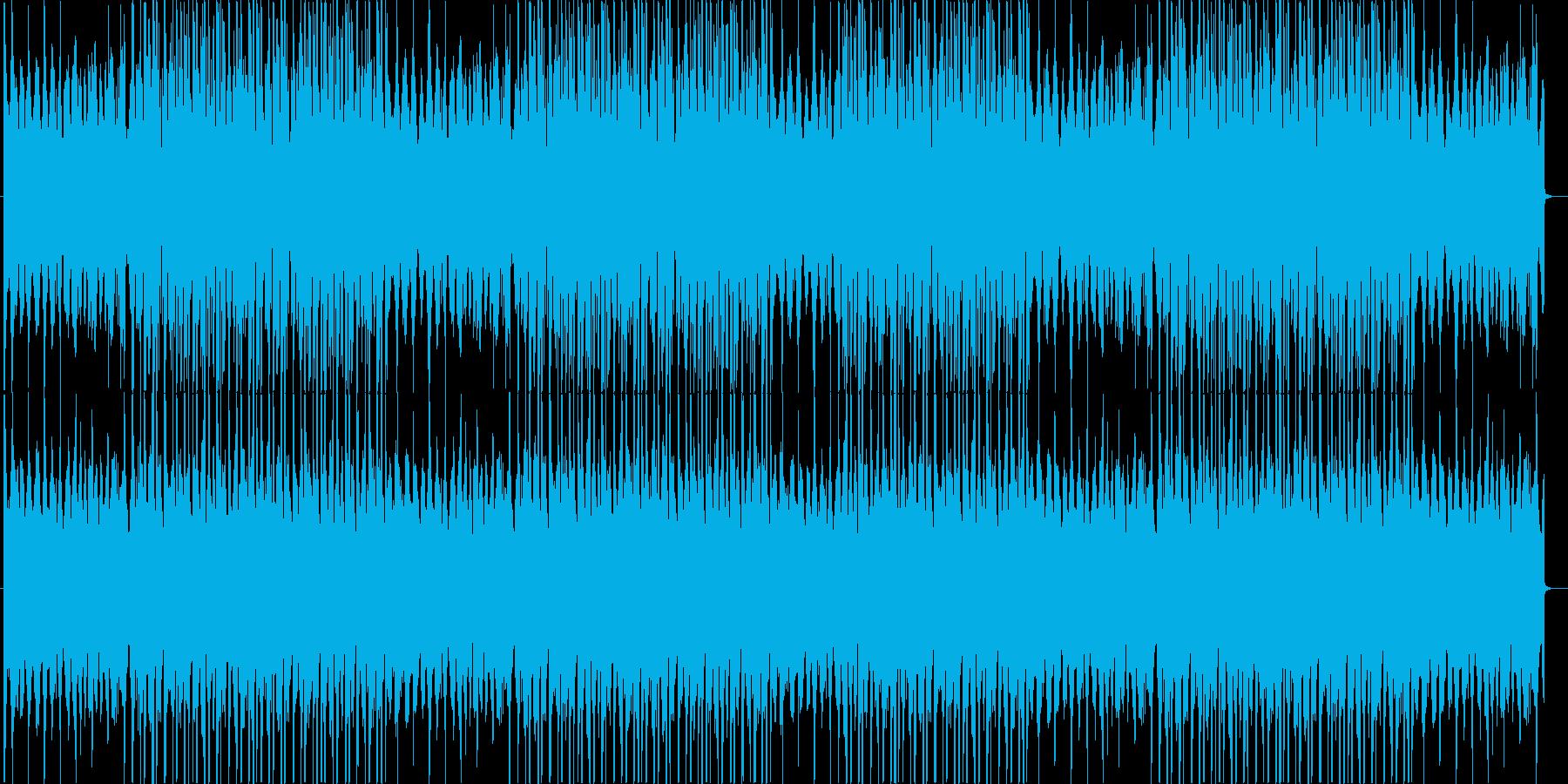 洋楽、チルアウト、ダークトラップ♪の再生済みの波形