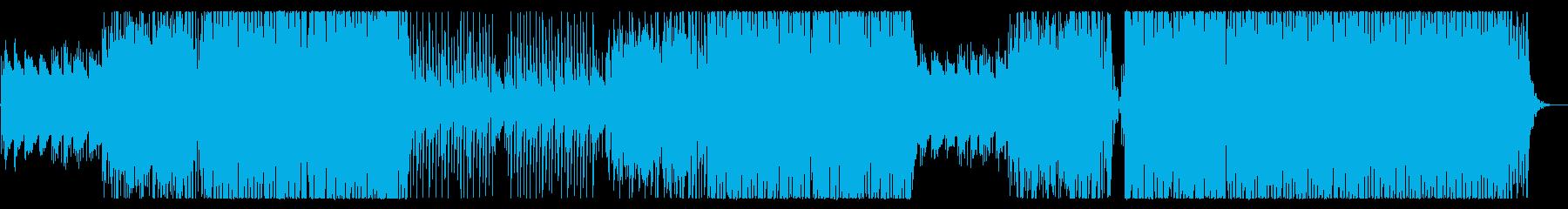 企業VP 爽やかで疾走感のあるEDMの再生済みの波形