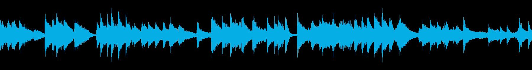 明るく快適なアコースティックジャズ...の再生済みの波形