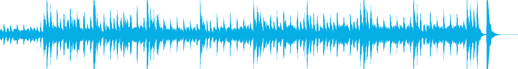 マリンバが印象的な可愛い雰囲気のマーチの再生済みの波形