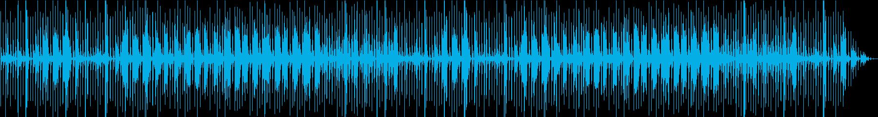 ほんわかとぼけた和風ギャグ曲の再生済みの波形