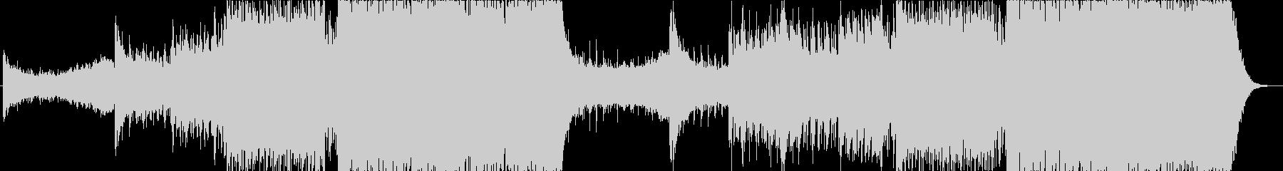 同じメロが繰り返されるトランスの未再生の波形
