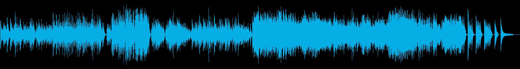 えっとこれは、べ、ベートーヴェン‥‥ン?の再生済みの波形