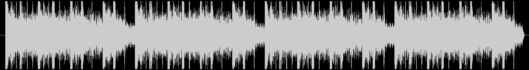 やさしい音の癒し系のエレクトロニカの未再生の波形