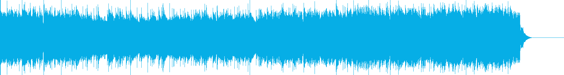 アップテンポな楽曲です。特に使用制限も…の再生済みの波形