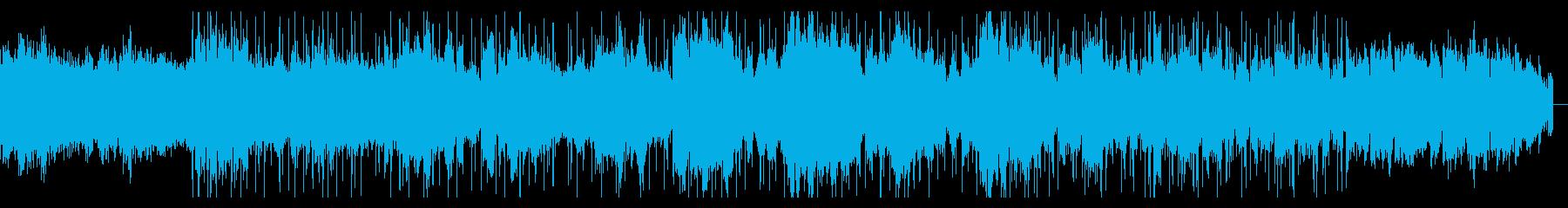 デジタルダークなテクスチャIDMの再生済みの波形