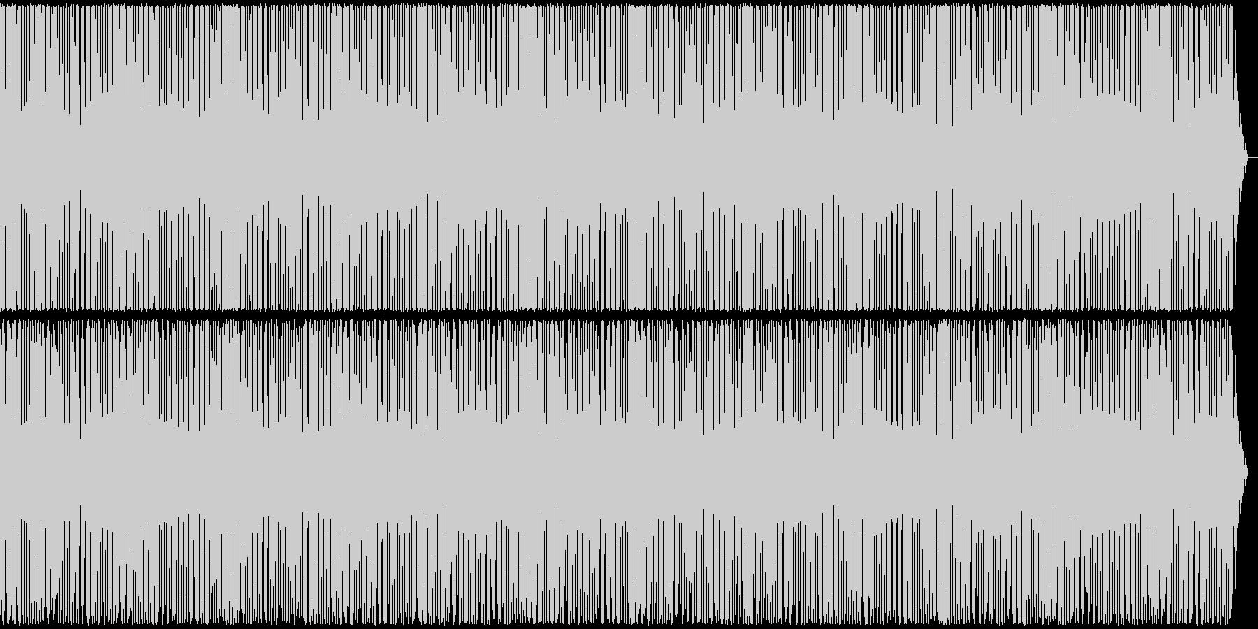 元気でポップなBGMの未再生の波形