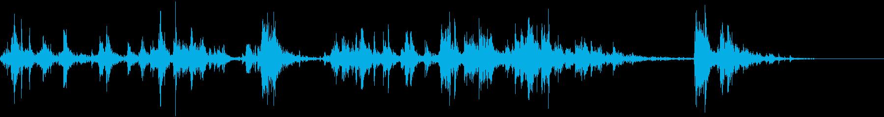 ヒルサイドダウンカークラッシュの再生済みの波形