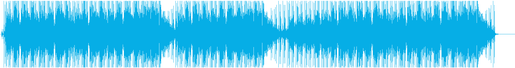 穏やかなジャジー・ヒップホップの再生済みの波形
